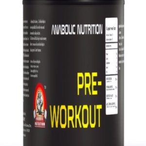 Anabolic Nutrition Pre Workout 300grams