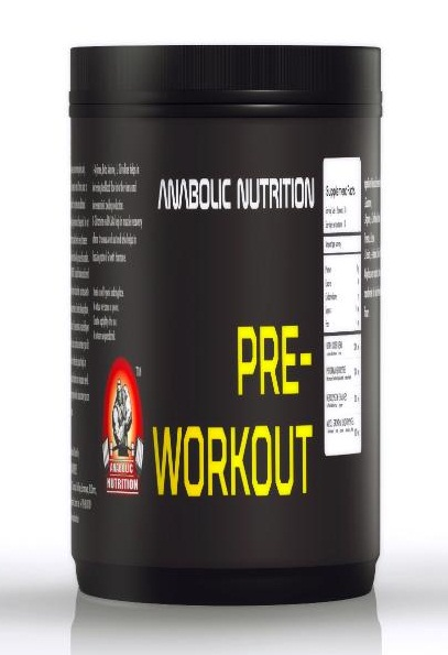 anabolic nutrition pre workout
