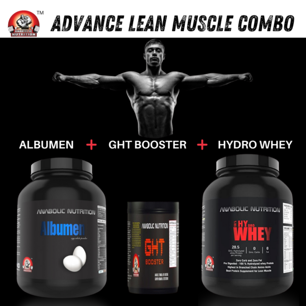 anabolic nutrition lean muscle combo pack